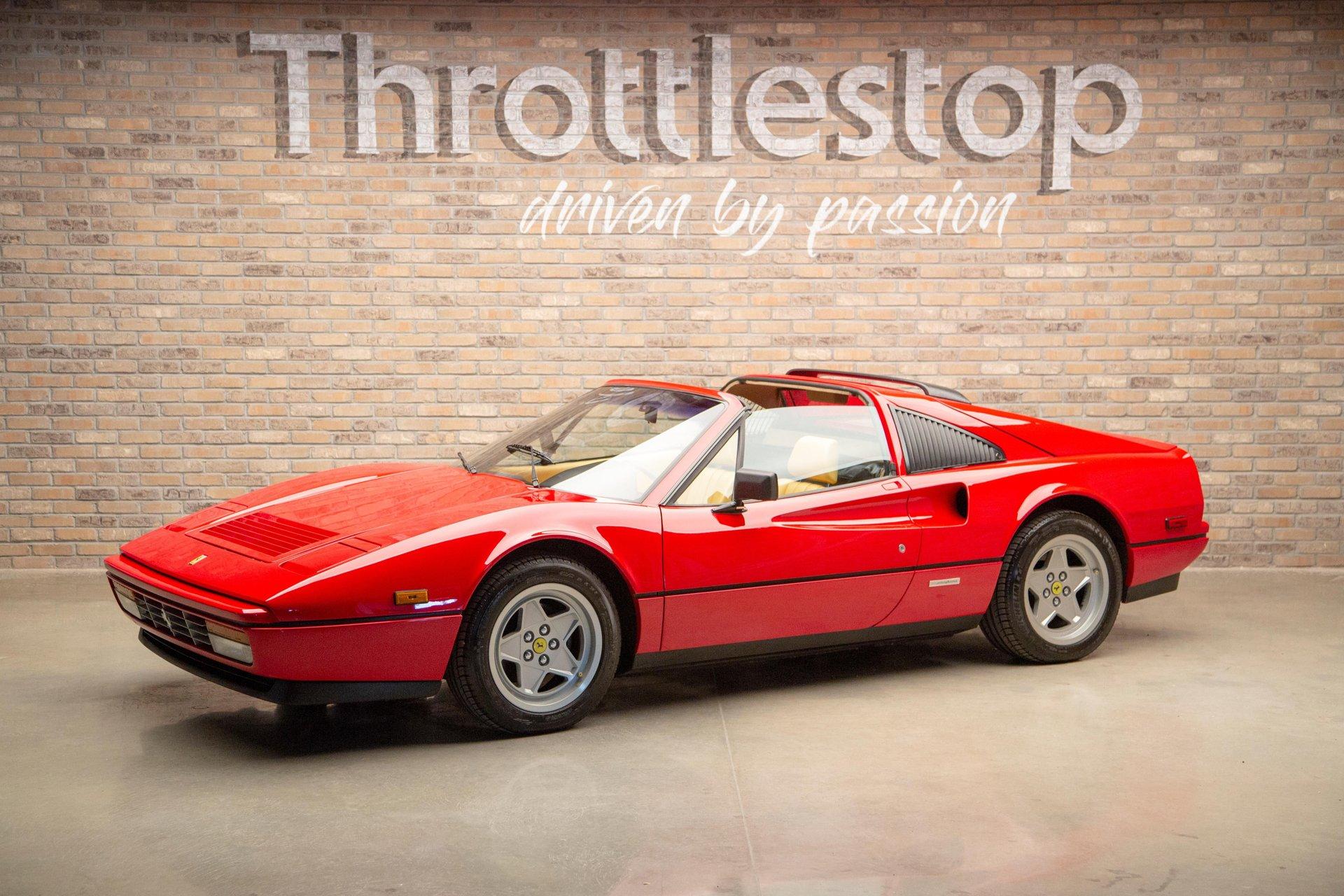 1987 ferrari 328 gts targa