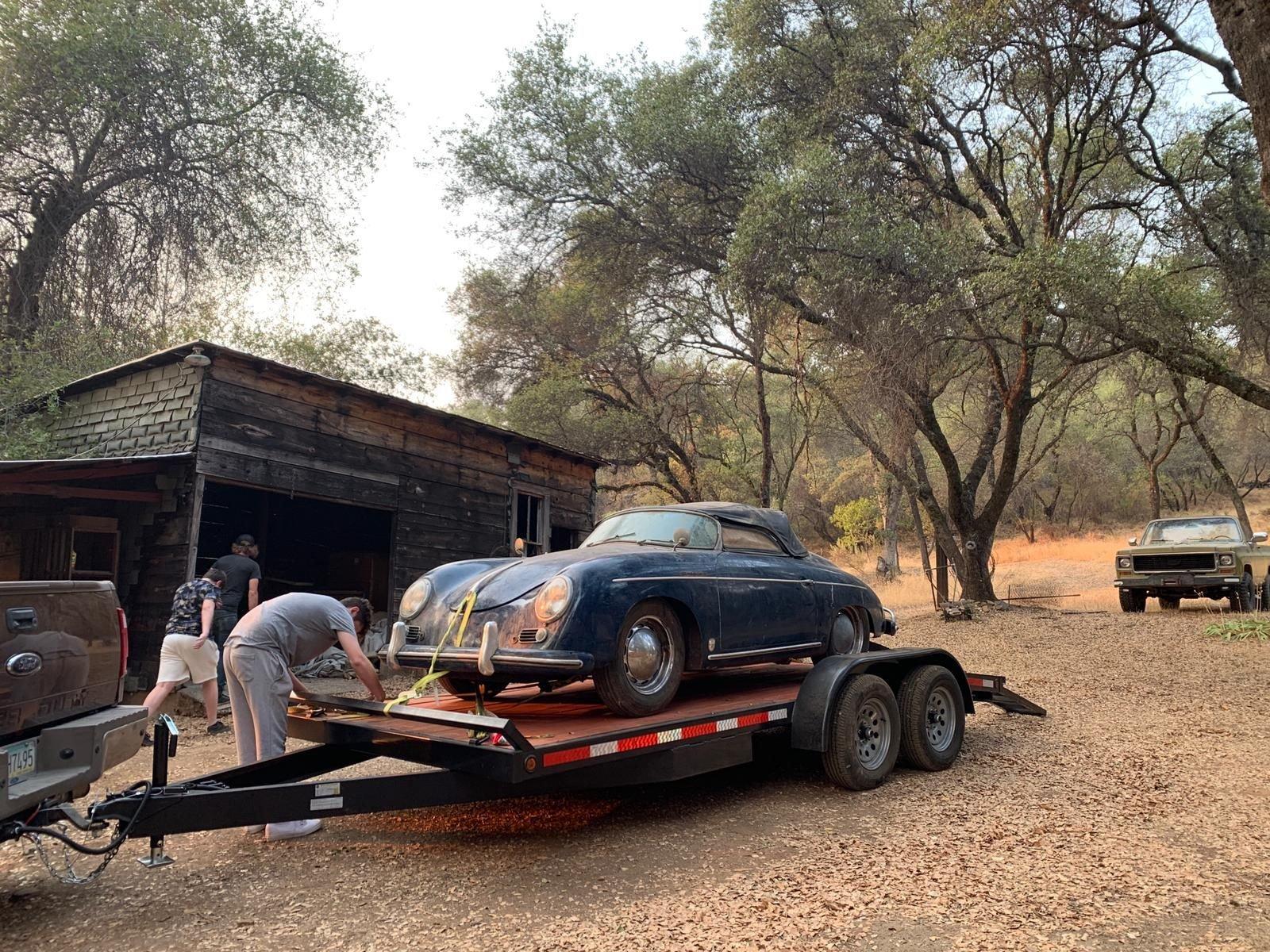 1955 porsche pre a speedster