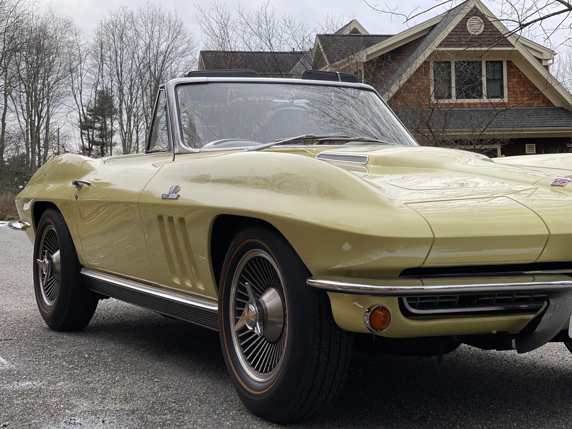 1966 chevrolet corvette 427 425hp