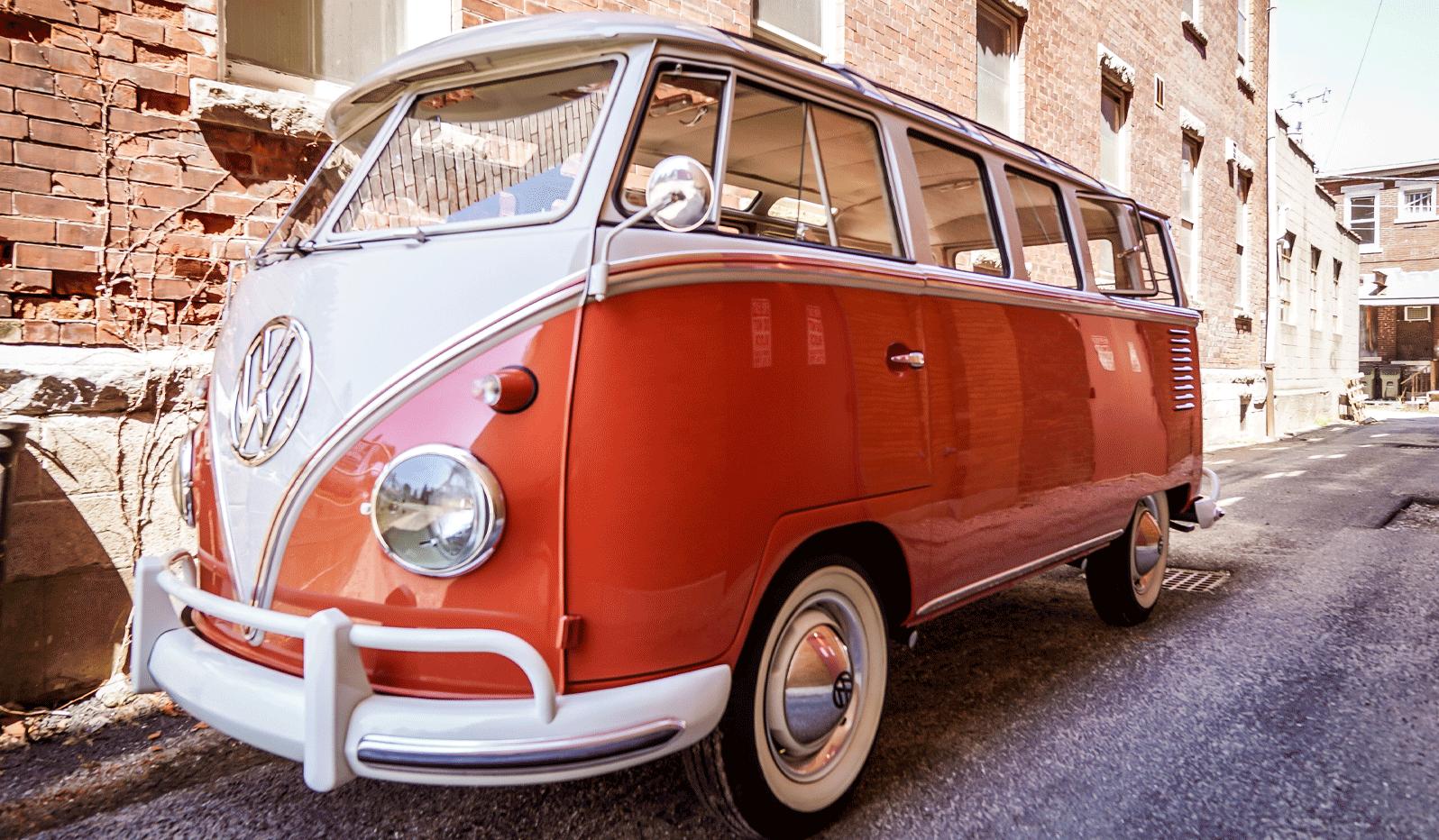 1961 volkswagen 23 window microbus
