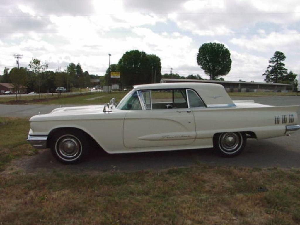 1960 ford t bird