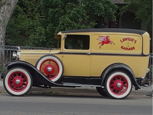 1931 ford deluxe sedan delivery