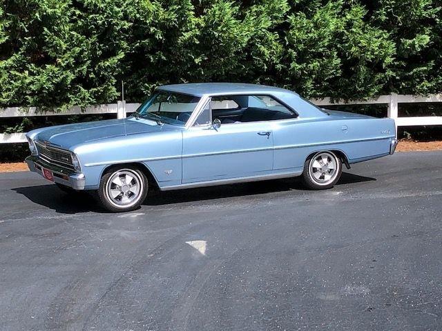 1966 chevy ii nova sport coupe