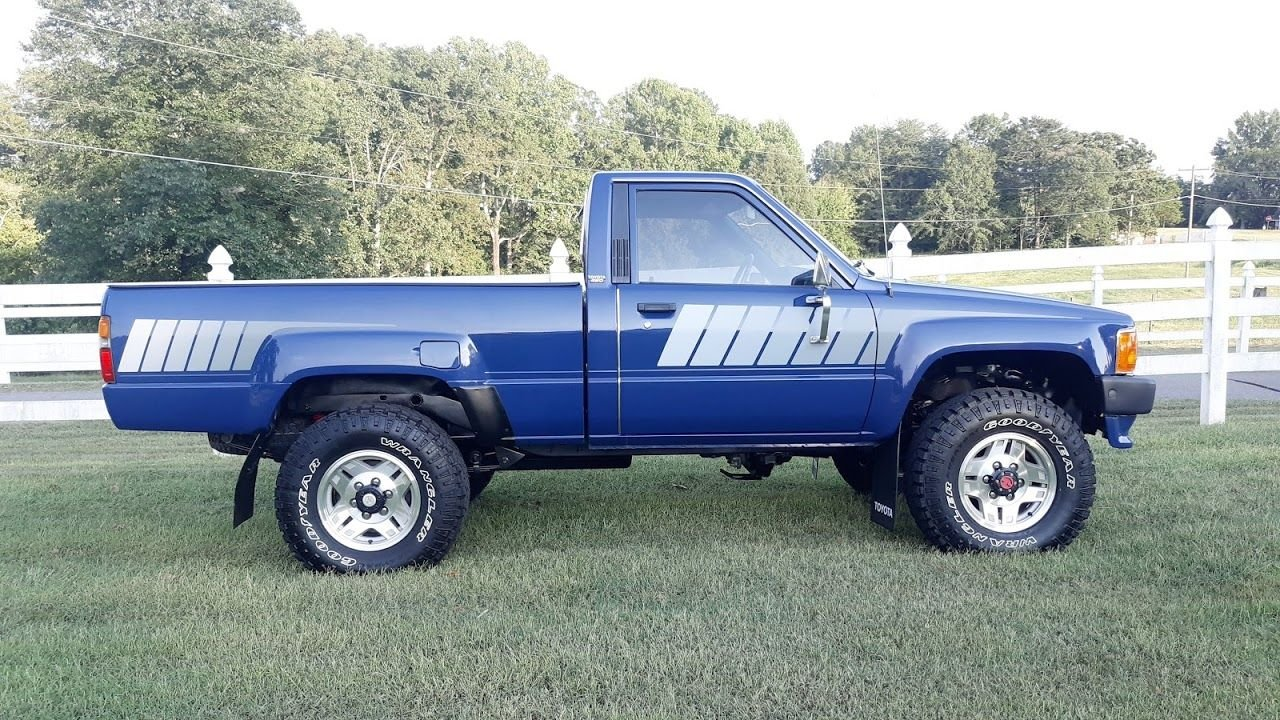 1986 toyota pick up