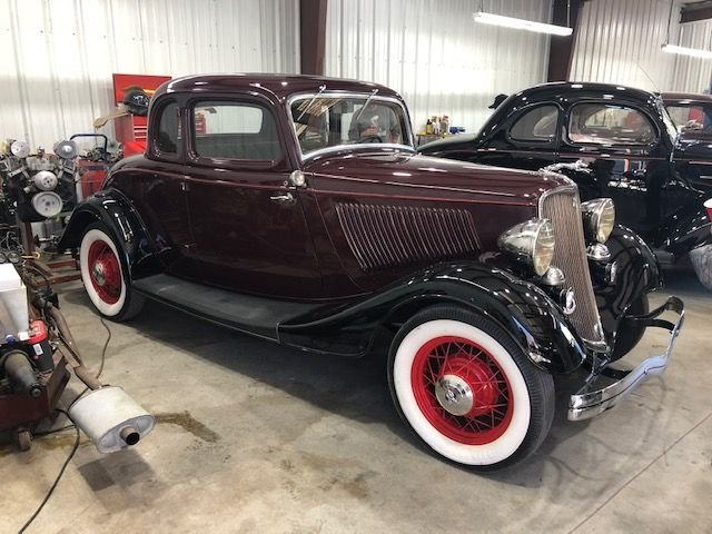 1933 ford rumble seat coupe