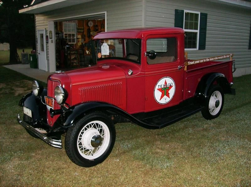 "Auction 1933 Ford ""Texaco"" Pickup"