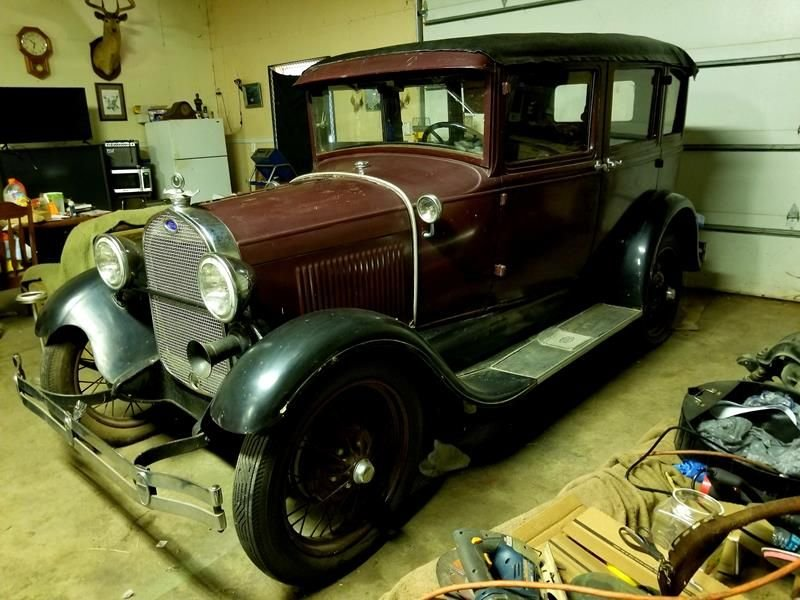 Auction 1929 Ford Model A