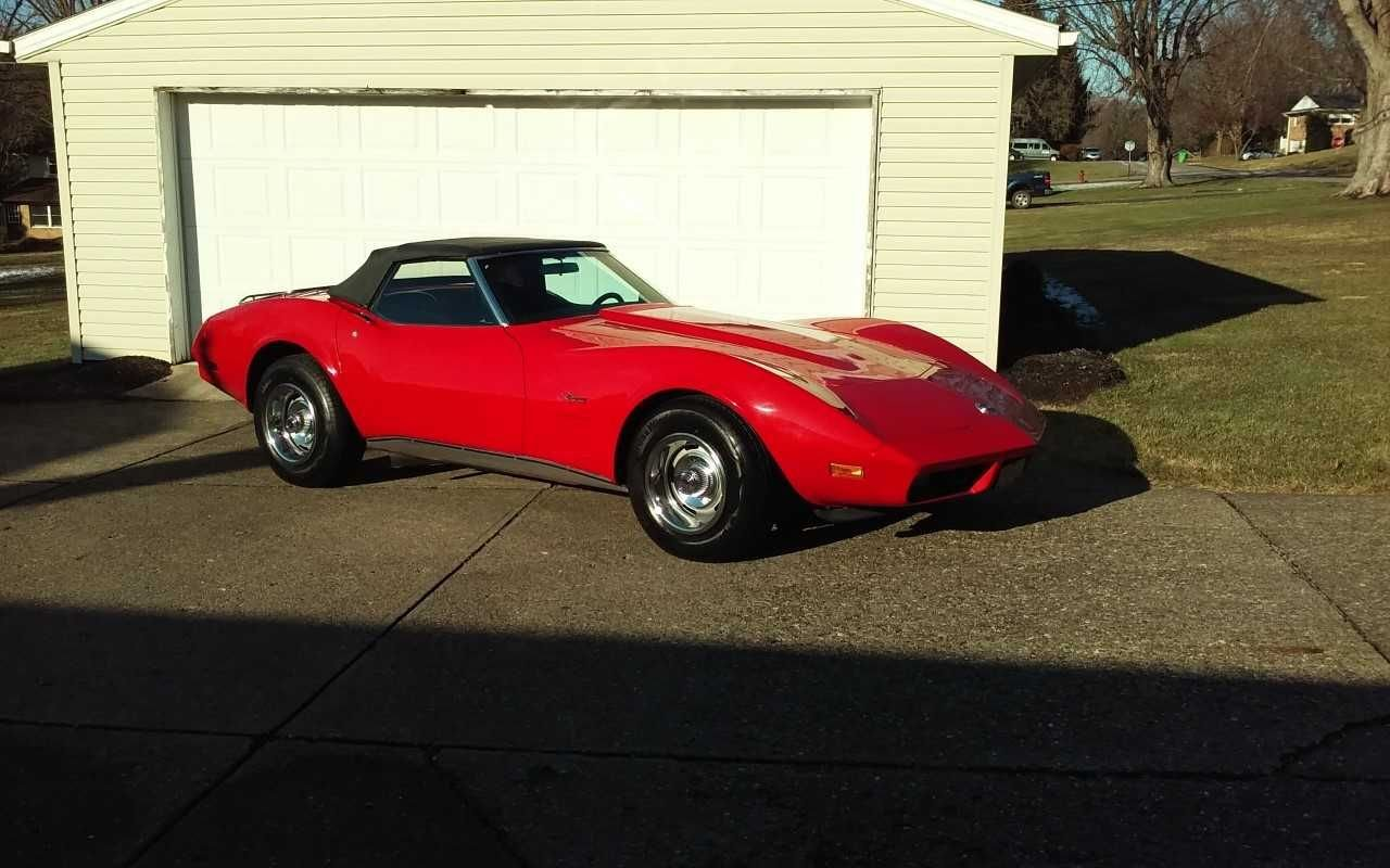 Auction 1974 Chevrolet Corvette Convertible