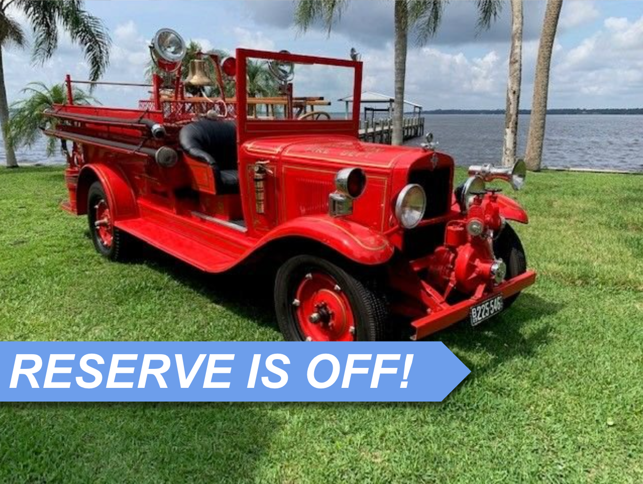 Auction 1929 Chevrolet Fire Truck