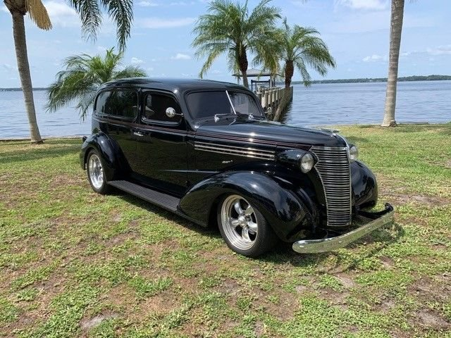 1938 chevrolet sedan delivery rest o rod
