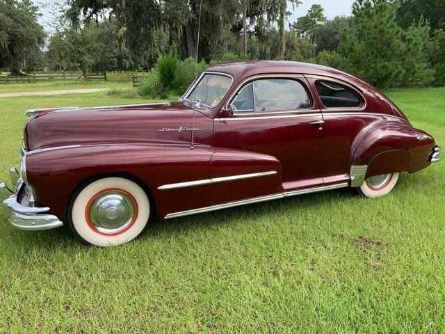 1948 pontiac silver streak sedanette