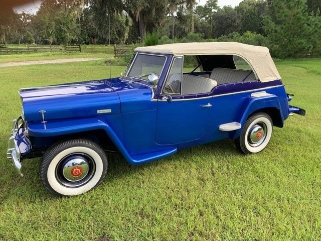 Auction 1949 Willys Jeepster