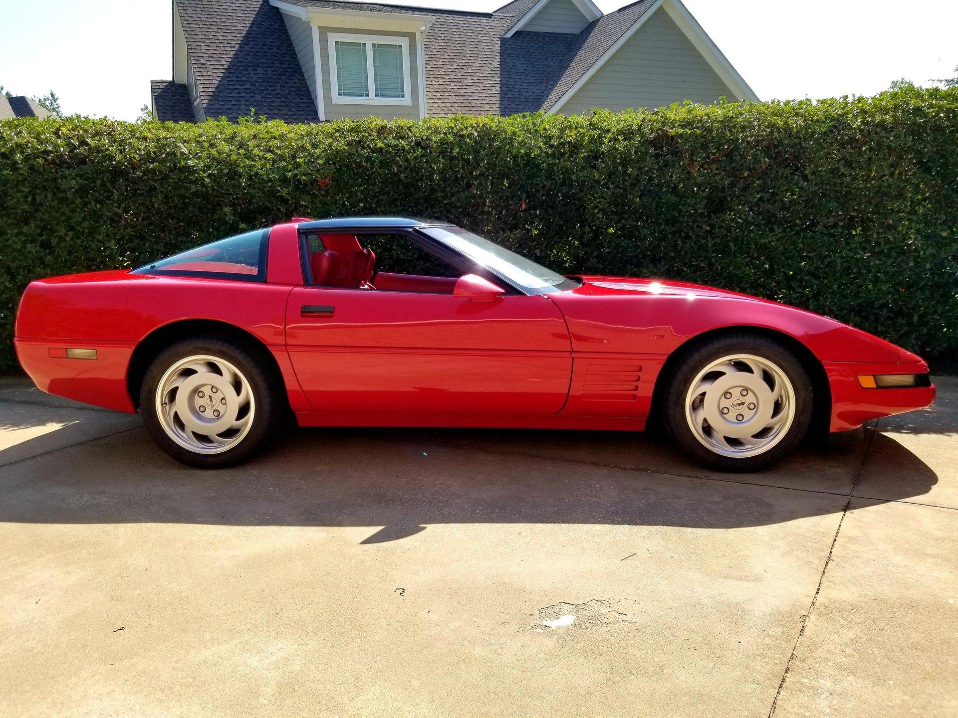 1991 chevrolet zr1 corvette coupe