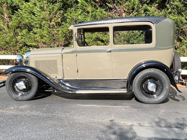 1930 ford model a old school hot rod