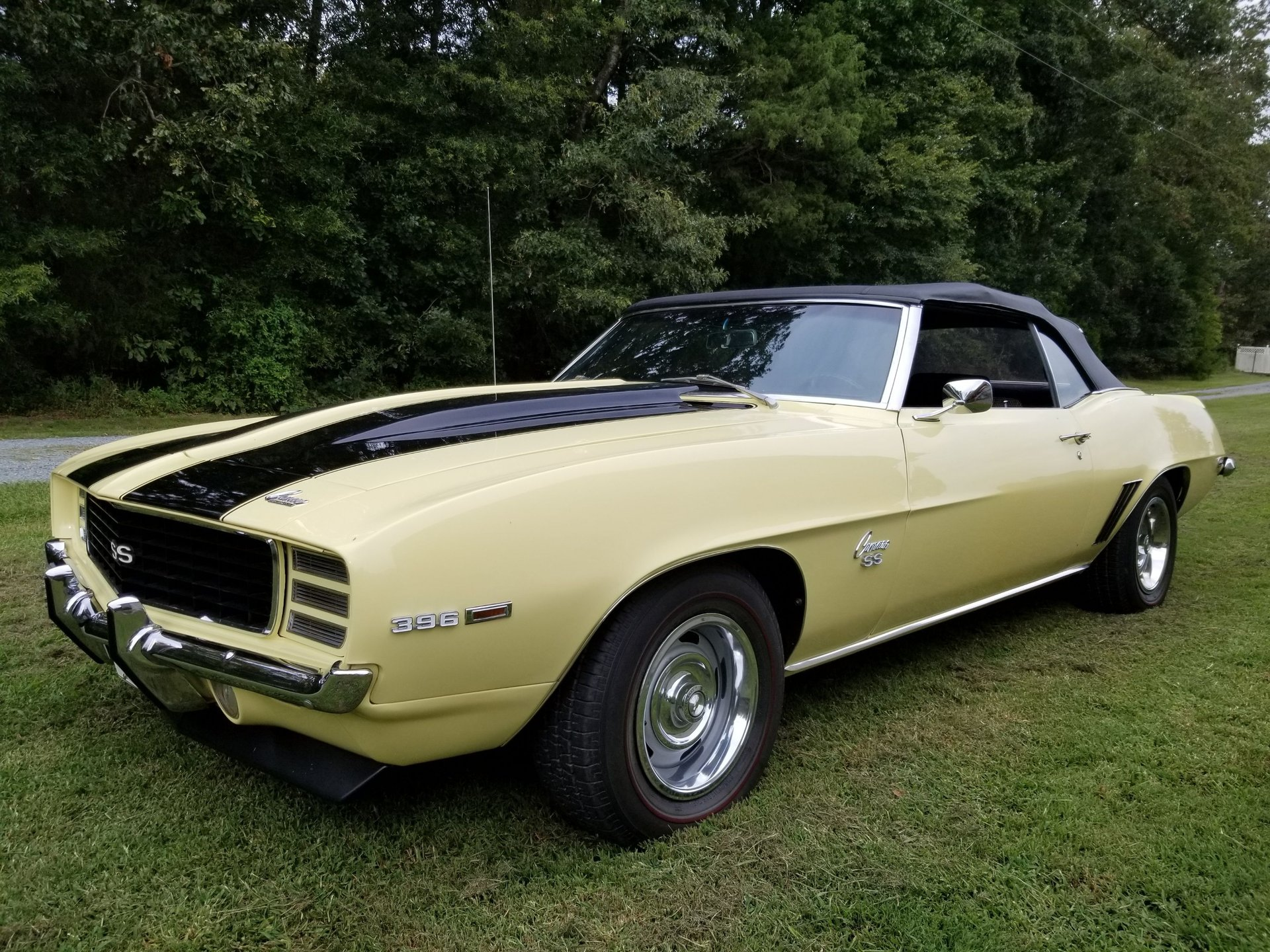 Auction 1969 Chevrolet Camaro SS/RS 396