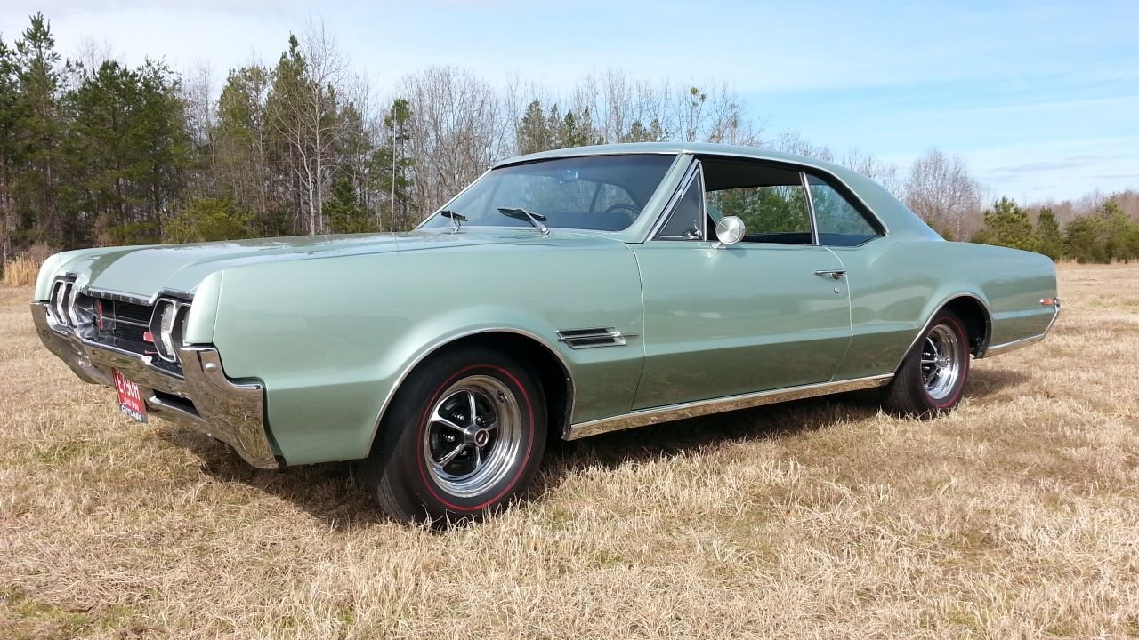 1966 oldsmobile 442 sport coupe