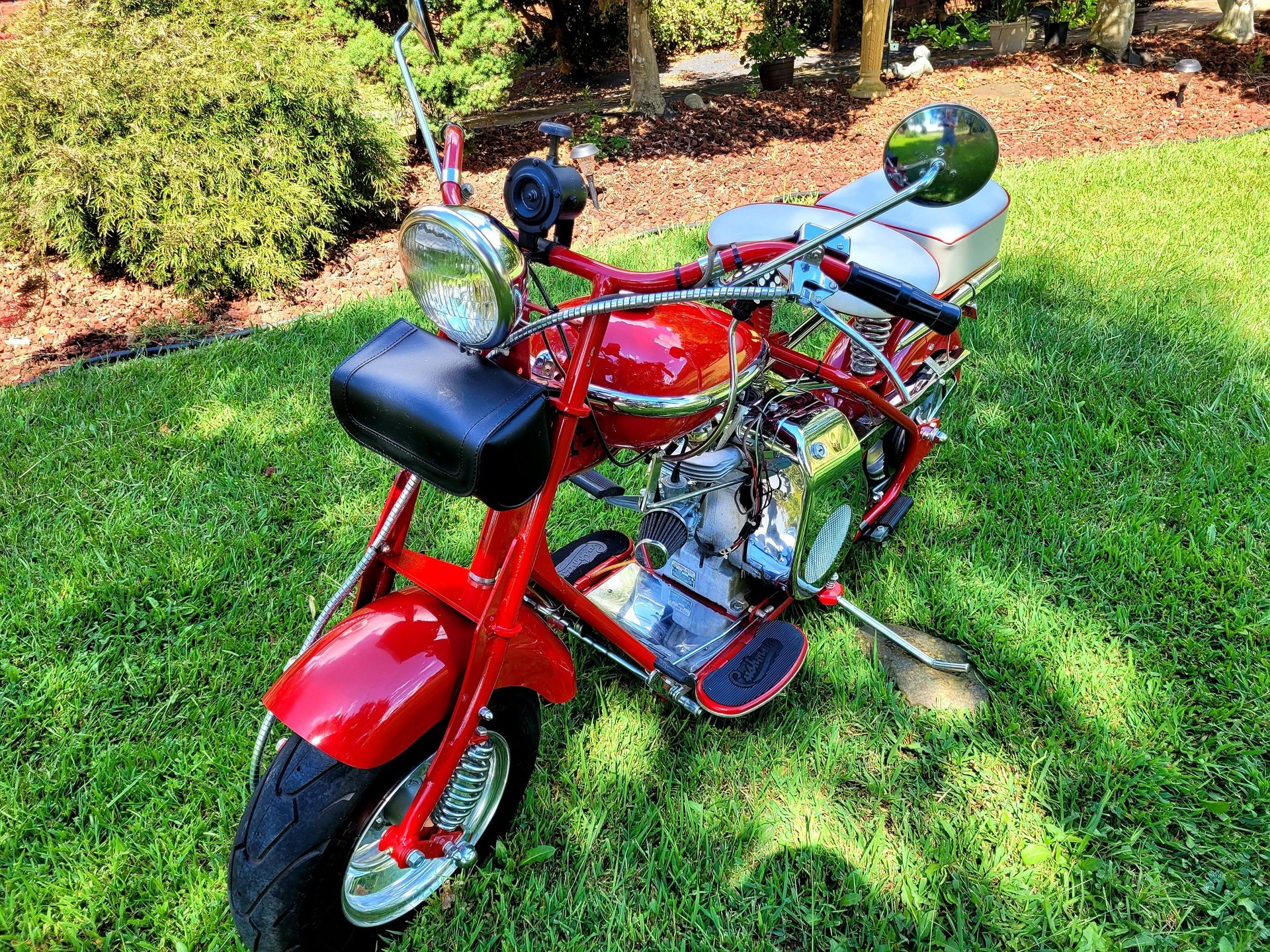 1955 cushman motorcycle