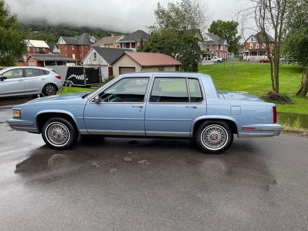 1987 cadillac deville sedan
