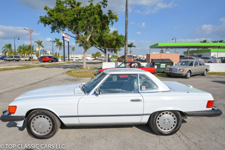 1988 Mercedes Benz 560 SL For Sale