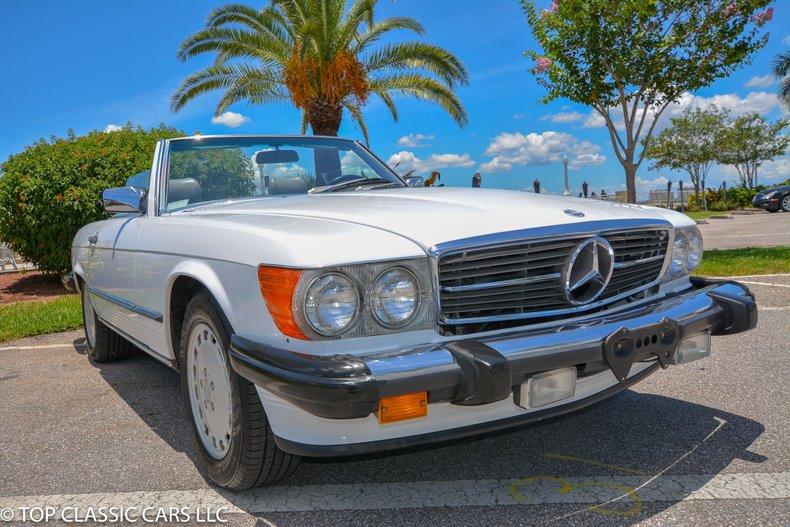 1987 Mercedes Benz 560 SL For Sale