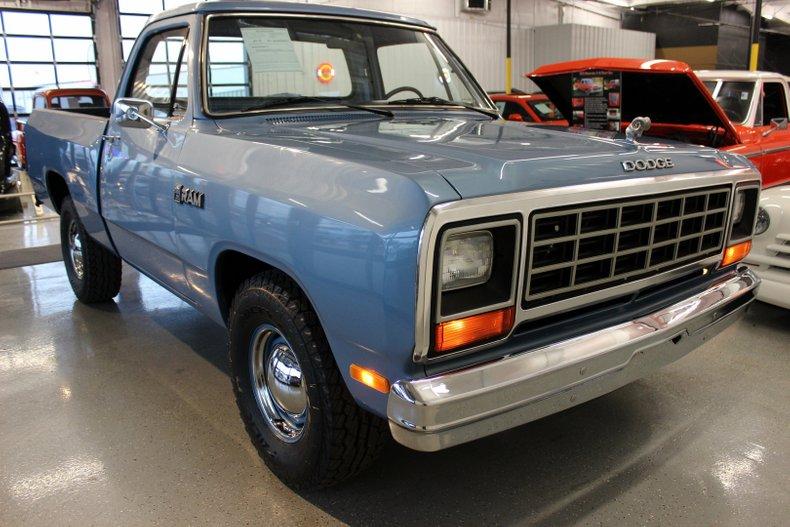 1985 Dodge D100 For Sale