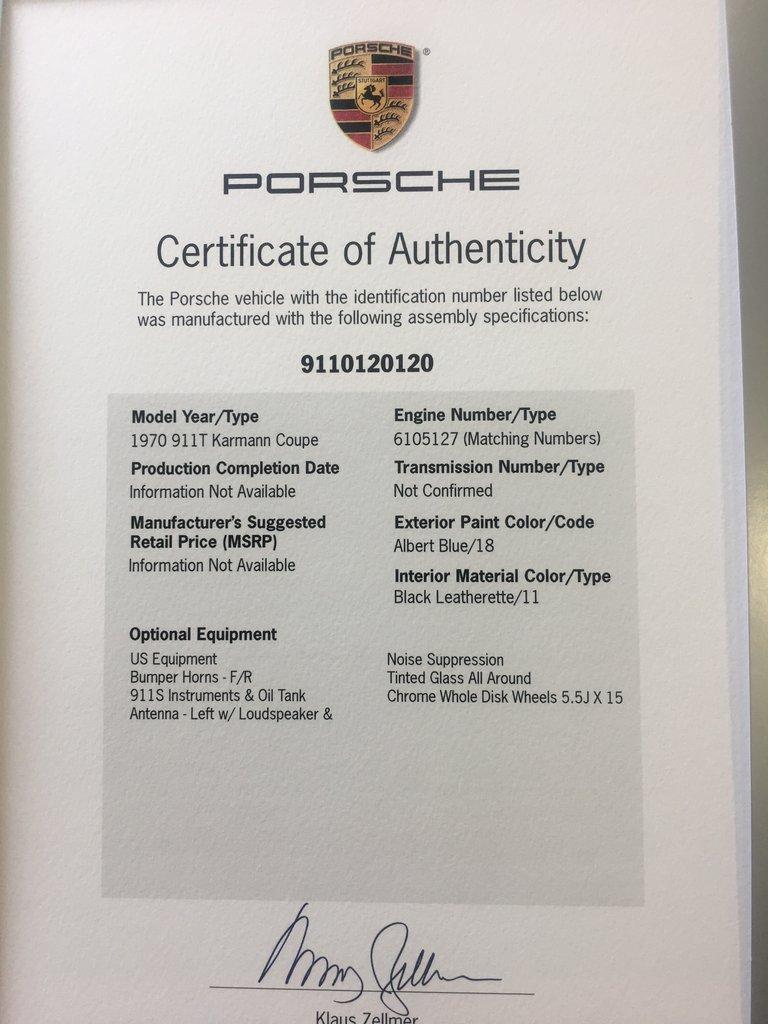 Porsche Font Numbers