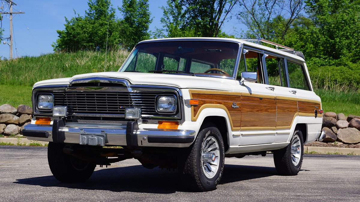 For Sale 1984 Jeep Grand Wagoneer