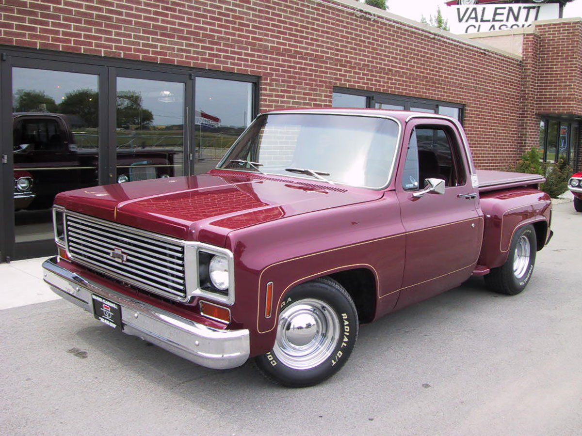 For Sale 1976 Chevrolet C10 Step Side Pick Up