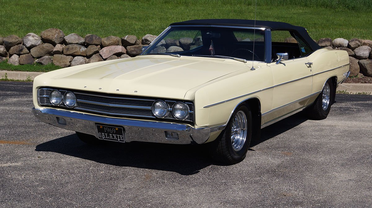 For Sale 1969 Ford Galaxie 500 Convertible