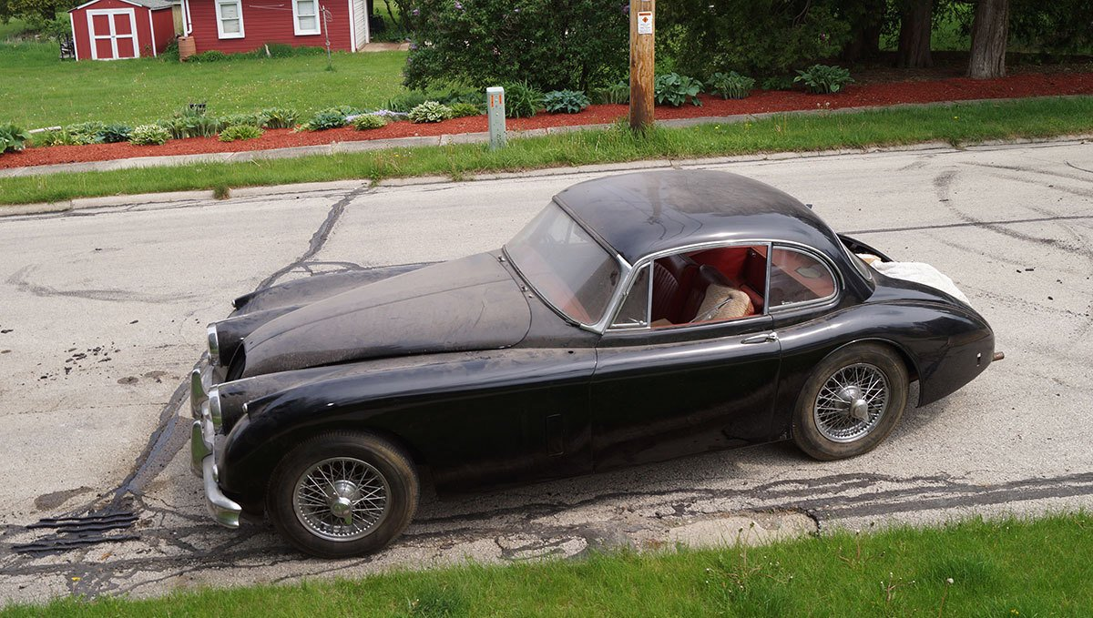 For Sale 1959 Jaguar XK 150