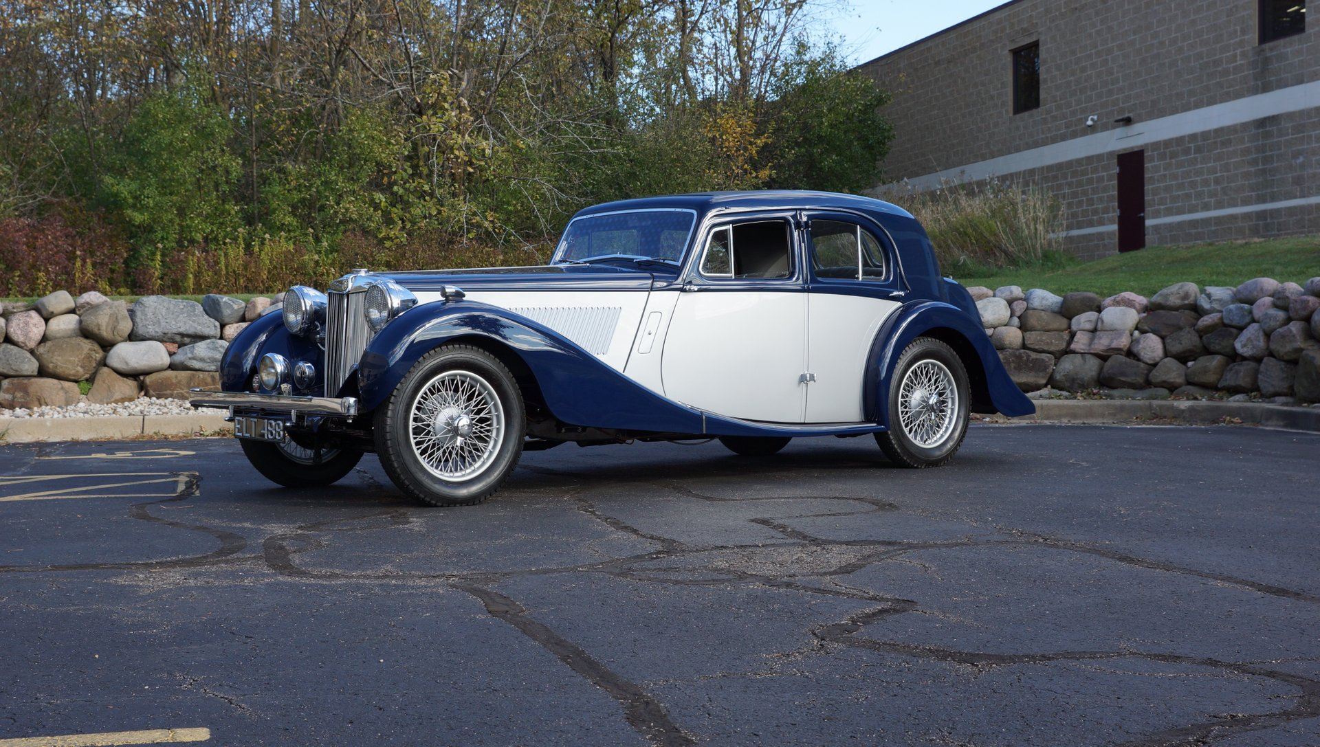 For Sale 1937 MG SA