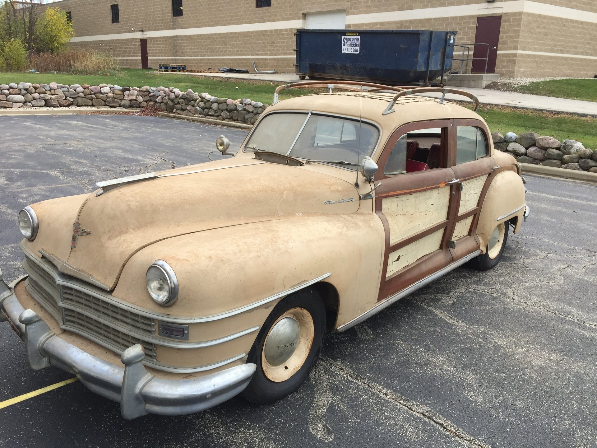 For Sale 1947 Chrysler T&C Woodie