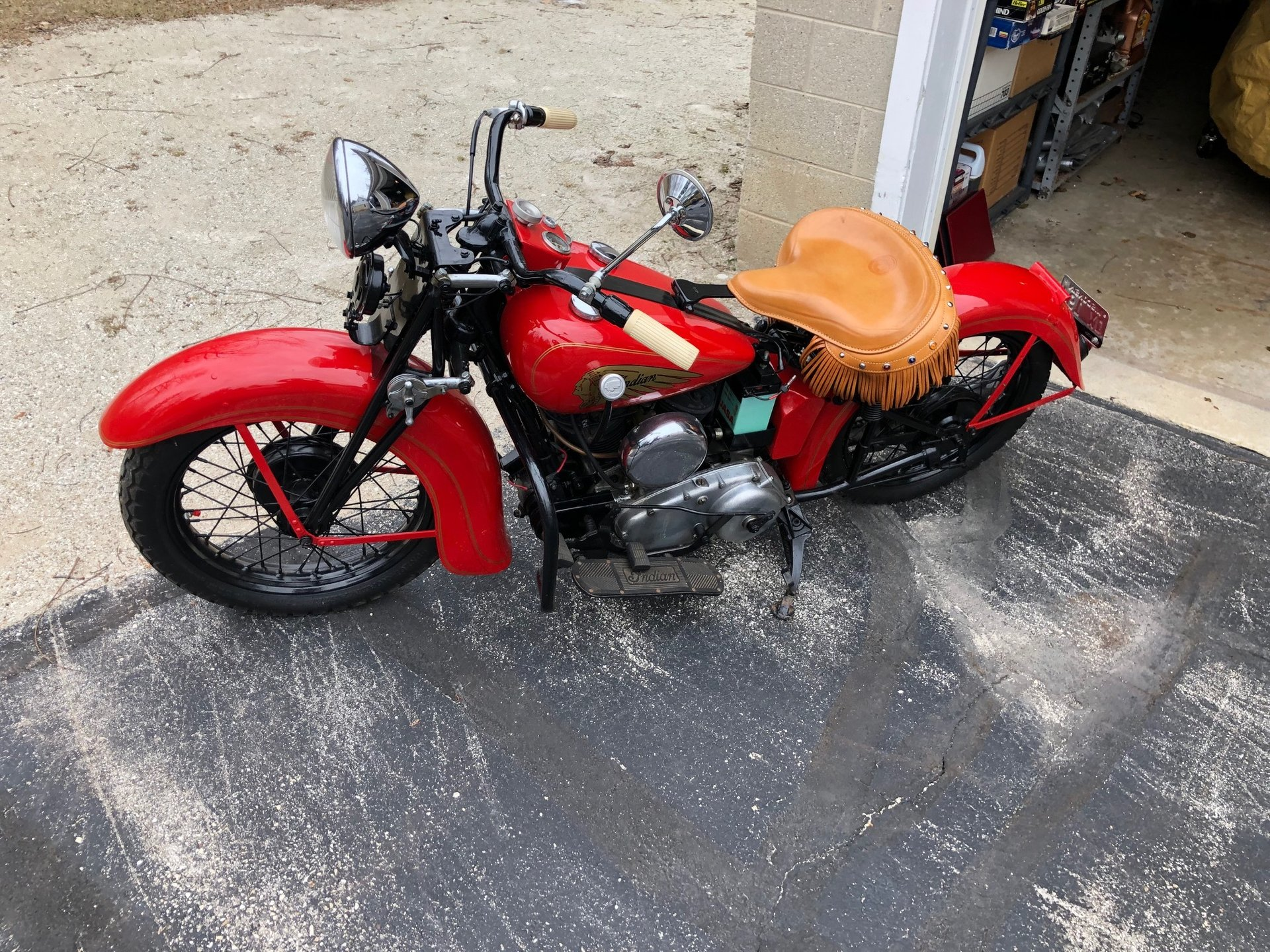 For Sale 1936 Indian Scout