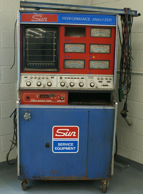 For Sale 1970/1980 Sun Diag Machine
