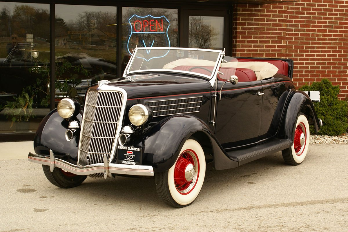 For Sale 1935 Ford Model 48 Deluxe Rumble Seat Roadster