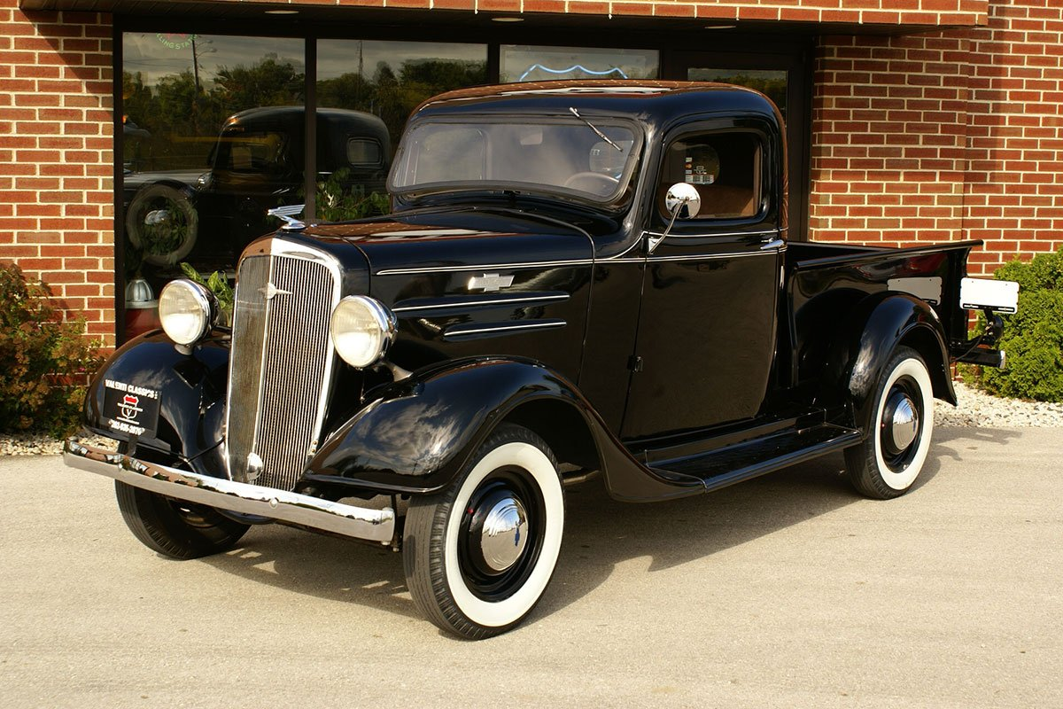 For Sale 1936 Chevrolet 1/2 ton Pick Up