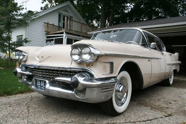 For Sale 1958 Cadillac 62 Series