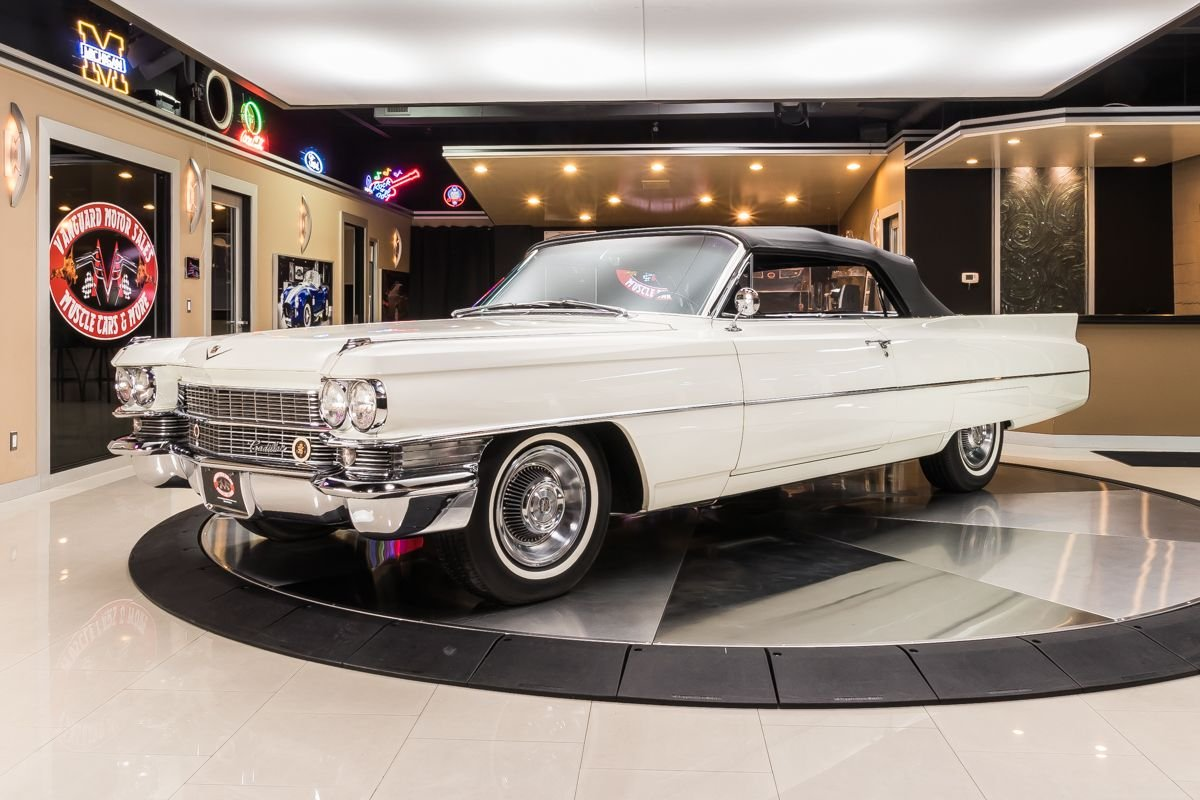 1963 cadillac series 62 convertible