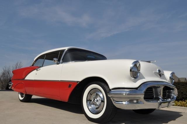 1956 oldsmobile super 88 watch video