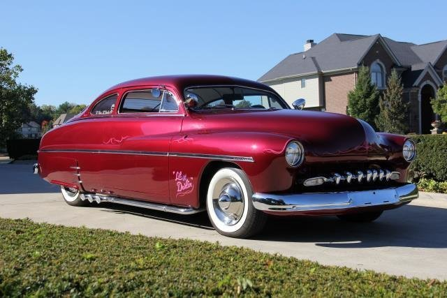 1950 mercury street rod lead sled