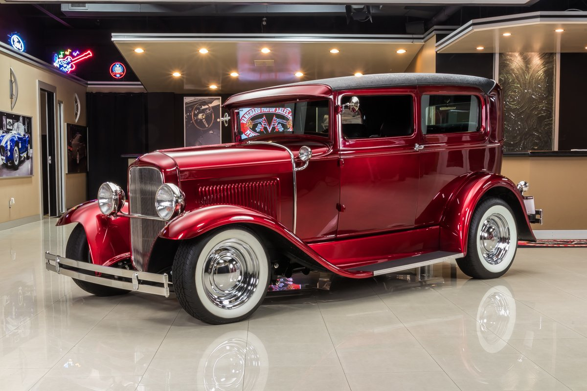 1930 ford model a tudor sedan street rod