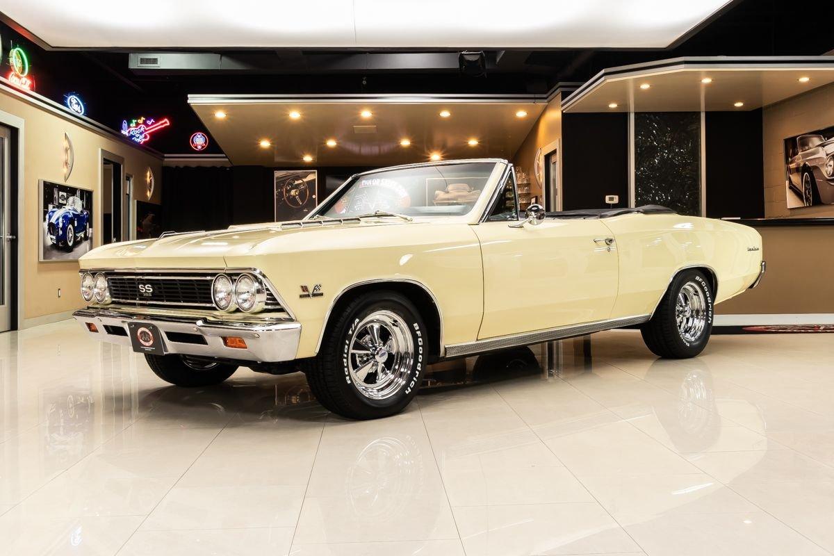 1966 chevrolet chevelle ss convertible