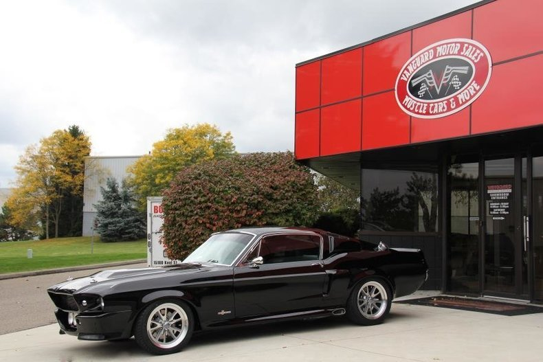 1968 ford mustang fastback black edition eleanor