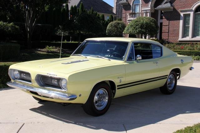 1968 Plymouth Barracuda | Classic Cars for Sale Michigan