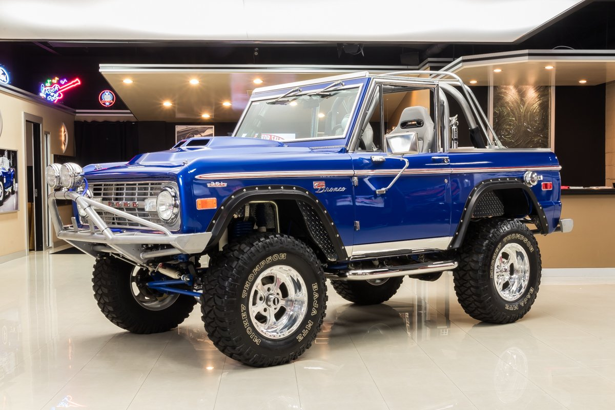 1969 ford bronco 4x4