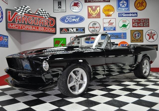 1967 ford mustang restomod