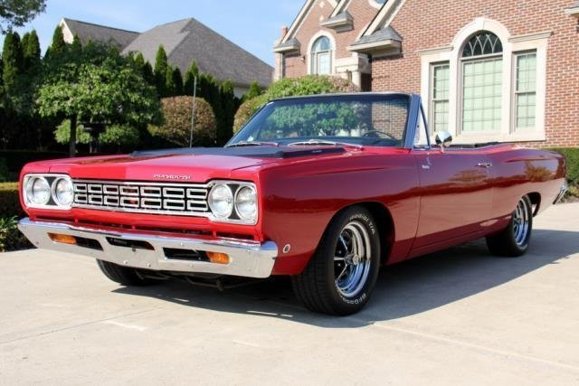 1968 plymouth road runner convertible