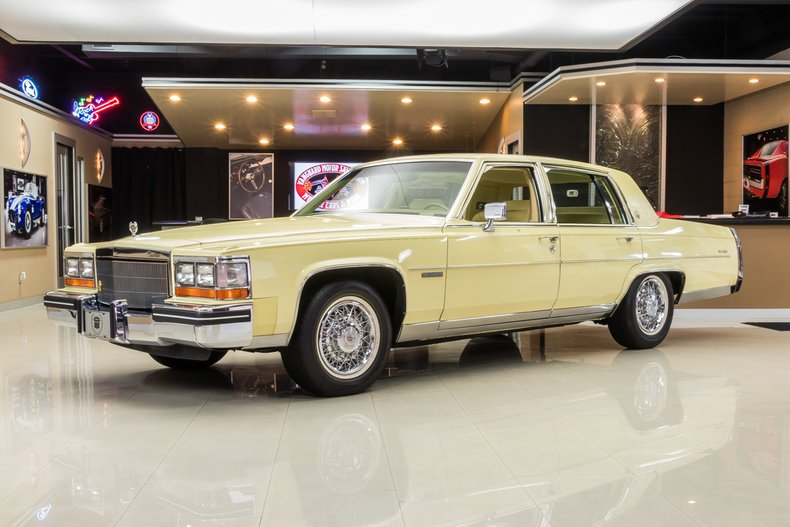 1982 Cadillac Fleetwood For Sale