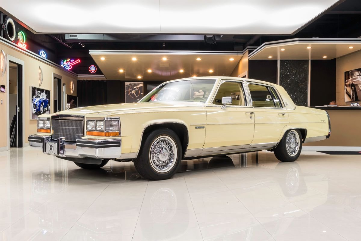 For Sale 1982 Cadillac Fleetwood