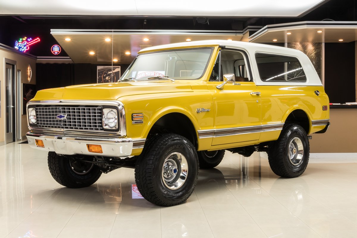 For Sale 1971 Chevrolet Blazer